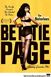 "Cover of ""The Notorious Bettie Page"""