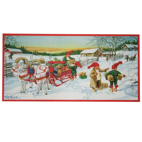 Christmas Paper Poster by artist Curt Nystrom