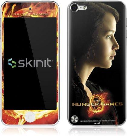 Skinit The Hunger Games -Katniss Everdeen Vinyl Skin for Apple iPod Touch (5th Gen/2012)