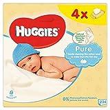 Huggies Toallitas bebé Pure 4 x 64 por paquete