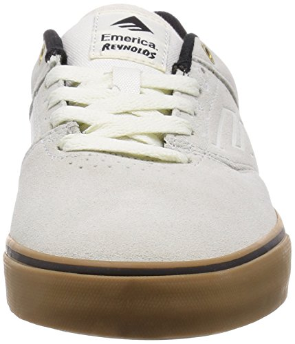 pictures of Emerica Men's Provost Slim Vulc X Mouse Skate Shoe, Black/Print, 7 M US