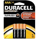 Duracell Products - Alkaline Battery AAA 4/PK - Sold As 1 PK - Long-life Alkaline AAA Batteries Operate Reliably In Temperature Extremes Of Negative 20 Degrees Celsius To 54 Degrees Celsius. Recommended For Use In Smoke Alarms Flashlights Lanterns Calcula