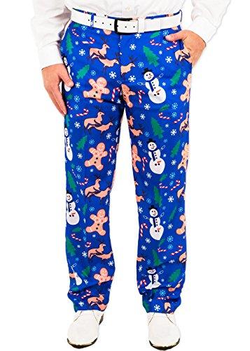 Naughty Christmas Suit Pants