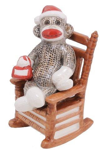 Sock Monkey Salt & Pepper at 'Sock Monkeys'