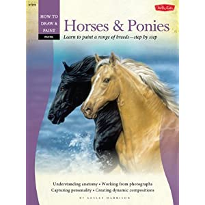 How to draw paint horses ponies learn to paint a for Learning to paint and draw
