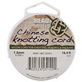 Chinese Knotting Cord 1.5mm 16.4 Feet/Spool-Siam
