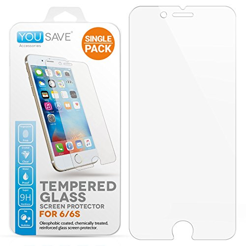 yousave-accessories-iphone-6s-6-crystal-clear-tempered-glass-screen-protector-ultra-thin-03mm-9h-har