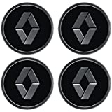RENAULT WHEEL CENTRE STICKER BADGE LOGO ALLOYS WHEEL CAP STICKER WHEEL TRIMS SET OF 4