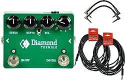 Diamond Tremolo - Opto Tremolo Pedal w/ 4 Cables from Diamond