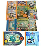 Harpercollins The Octonauts Collection 12 Books Set (The Octonauts and the Giant Squid, The Flying Fish, The Octonauts and the Decorator Crab, The Octonauts and the Whale Shark, The Octonauts and the Orcas, The Monster Map, The Lonely Monster, etc)