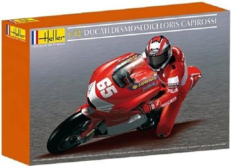 Heller - 80912 - Construction Et Maquettes - Ducati Desmosedici Loris Capirossi - Echelle 1/12ème