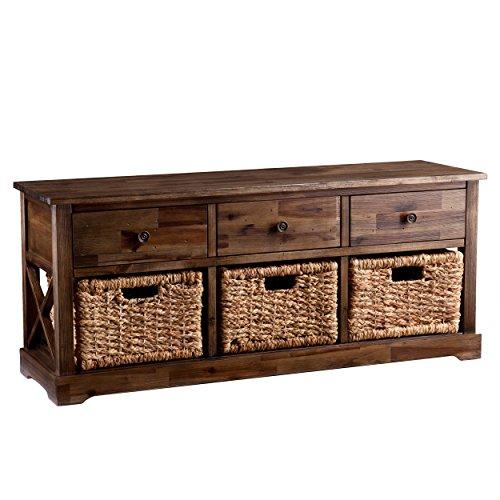 Jayton Storage Bench (Storage Bench With Baskets compare prices)