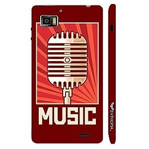Lenovo K 860 Radio Station designer mobile hard shell case by Enthopia