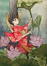冬目景のカラーイラスト企画「風姿十二花」が11月発売
