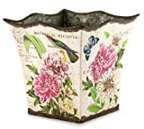 Michel Design Works Tin Bucket, Small, Peony