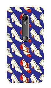 ZAPCASE PRINTED BACK COVER FOR MOTOROLA MOT G TURBO EDITION - Multicolor