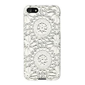 iPhone 5 / 5s SlimShield Ltd. Stevie - Crochet White