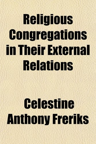 Religious Congregations in Their External Relations