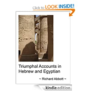 Triumphal Accuonts in Hebrew and Egyptian