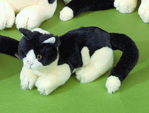 Förster Stofftiere 3470 schwarz-altweiße Katze
