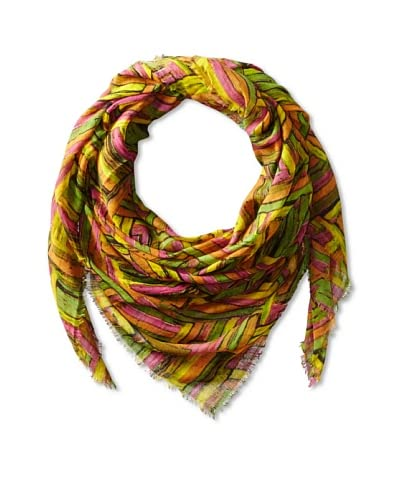Tolani Women's Tokri Scarf, Orange