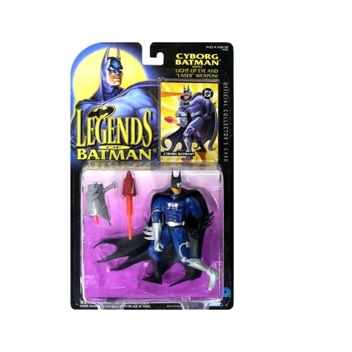 Legends of Batman Cyborg Batman Action Figure