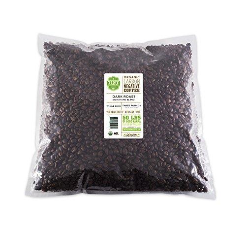 Tiny Footprint Coffee Organic Dark Roast Whole Bean Coffee, 3-Pound Bag (Ecuador Coffee compare prices)