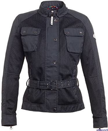 Tucano urbano 8905N2 aTITLÀN lADY paB-hi-density and mesh polyamide ciré women's jacket, noir-taille xS