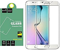 MobiDoc SILVER Electroplated Tempered Glass For Samsung Galaxy S7 edge-Anti Shock