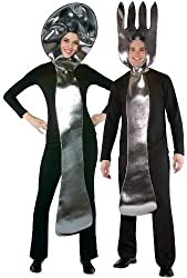 Fork and Spoon Costume Set Adult - L/XL - Adult Costumes