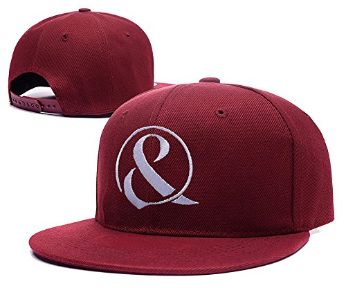 HAIHONG Of Mice & Men Band Logo Adjustable snapback Embroidery Hats Caps - Red (The Mouse Butcher compare prices)