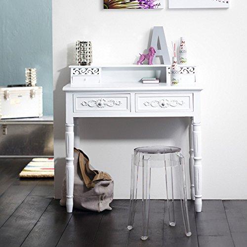 White Wooden Bureau Writing Desk