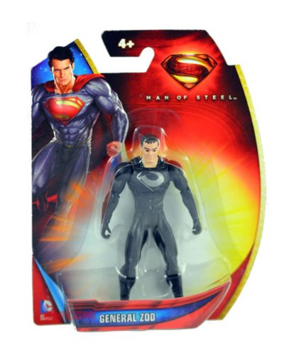 Superman Man of Steel Armor Suit Zod 3.75 inch Action Figure - 1