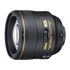 Nikon 85mm f/1.4G AF-S Nikkor Lens for Nikon Digital SLR