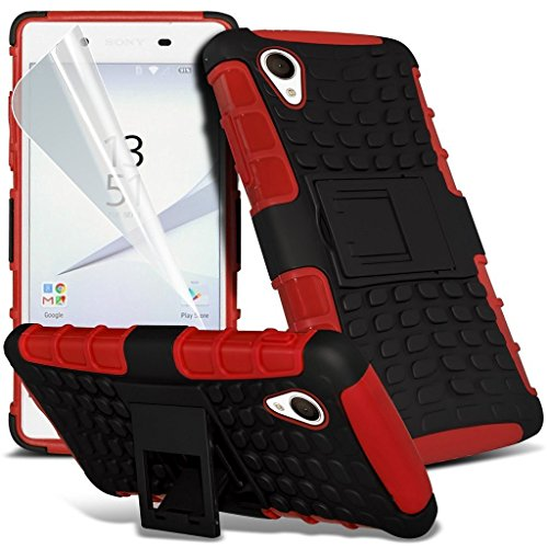 red-sony-xperia-xa-case-heavy-duty-mobile-phone-case-shockproof-tough-survivor-workman-cover-and-sta