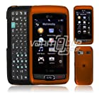 ORANGE FACE PLATE CASE + LCD Screen Protector for LG VU PLUS