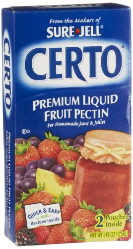 Certo premium liquid fruit pectin by sure jell 6 ounce for Pectine cuisine