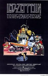 The Song Remains the Same Poster Movie 11x17 John Bonham John Paul Jones Jimmy Page Robert Plant