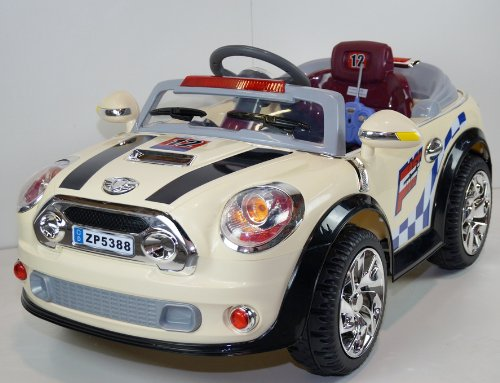 Ride On Toy New 2014 Mini Cooper Style Car New Power Ride On Toy Electric Car With Mp3 Connection 2 Motors And 2 Battery And Remote Control