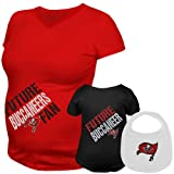 Reebok Tampa Bay Buccaneers Womens Future Player Maternity Top & Infant Set Extra Large