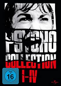 Psycho Collection 1-4 Box Set