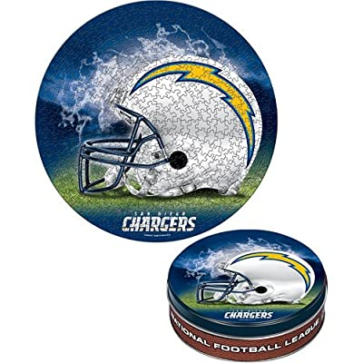 Wincraft San Diego Chargers 500 Piece Puzzle in Collectable Tin
