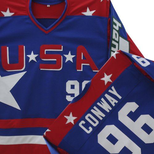 MIGHTY DUCKS D2 TEAM USA HOCKEY CONWAY JERSEY