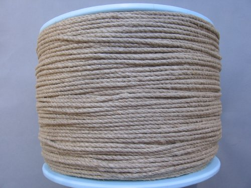 Hemp Rope Diameter 4mm - 500 Meter