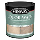 Minwax 618604444 Color Wash Transparent Layering Color, White Wash, 1 Quart (Color: White Wash, Tamaño: 1 Quart)
