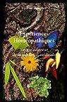 Expériences Homeopathiques par Renoux