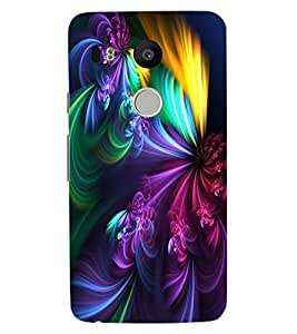 ColourCraft Abstract Image Design Back Case Cover for LG GOOGLE NEXUS 5X