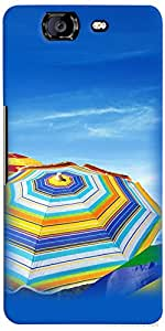 PrintVisa Travel Beach Case Cover for Micromax Canvas Knight A350