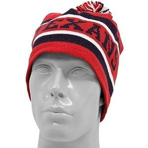 Houston Texans Reebok Pom Top Cuffless Knit Hat by NFL