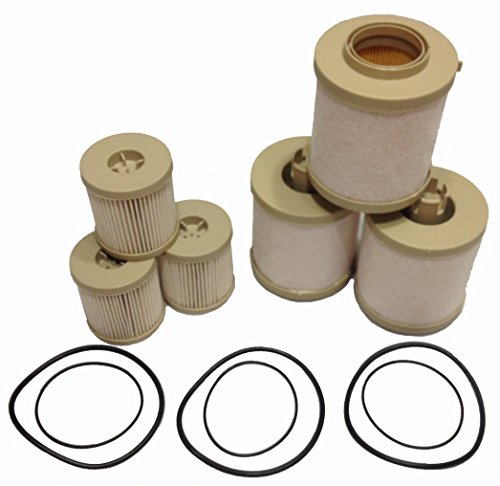 ford 6 0l 2003 2007 diesel fuel filter 3 pack includes. Black Bedroom Furniture Sets. Home Design Ideas